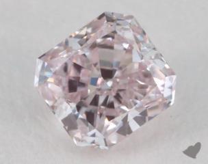 radiant0.31 Carat fancy light pinkSI1