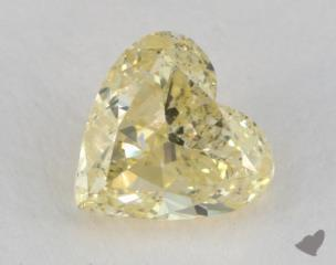 heart0.73 Carat fancy yellowI1