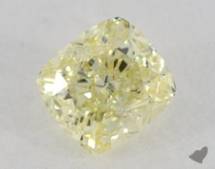 cushion1.21 Carat fancy yellowVS2