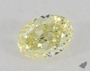 oval1.12 Carat fancy yellowSI1