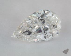 pear0.71 Carat GSI1