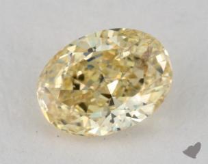 oval0.59 Carat  yellowSI2