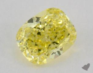 cushion1.18 Carat fancy intense yellowSI1