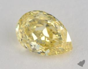 pear1.00 Carat fancy intense yellowVVS2