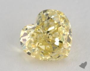 heart1.21 Carat fancy intense yellowI1