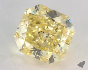 radiant1.45 Carat fancy intense yellowSI2