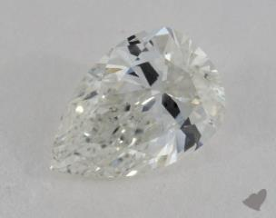 pear0.73 Carat HSI2