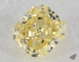 radiant0.31 Carat fancy intense yellowSI2