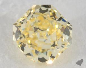 radiant0.39 Carat fancy yellowVVS2