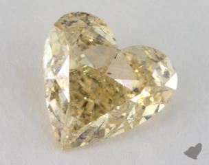 heart2.25 Carat fancy yellowI1