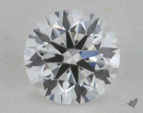 <b>0.32</b> Carat E-VVS1 Excellent Cut Round Diamond