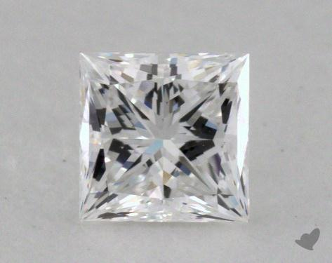 <b>0.52</b> Carat D-VVS1 Princess Cut Diamond 