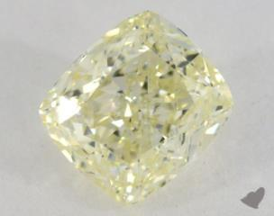 cushion1.28 Carat  yellowVVS2
