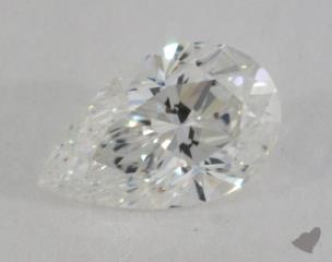 pear0.72 Carat FSI1