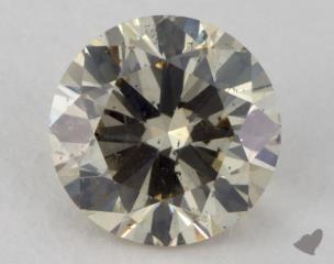 round1.21 Carat fancy light brownish yellowSI2