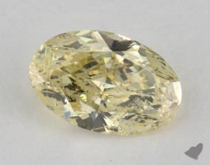oval1.50 Carat fancy yellowI1