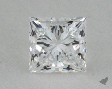<b>0.57</b> Carat D-VS2 Princess Cut Diamond