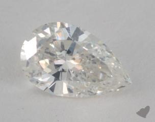 pear0.70 Carat JSI2