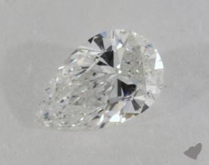 pear0.74 Carat FSI1
