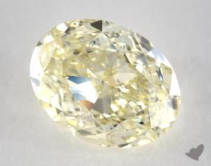oval2.22 Carat  yellowIF