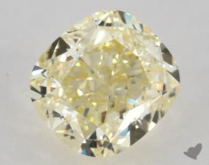 cushion0.90 Carat  yellowVS2