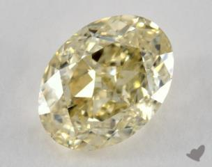 oval1.65 Carat  yellowVVS2