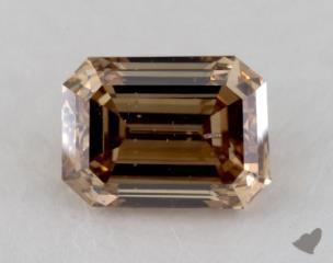emerald2.62 Carat fancy yellowish brownI1