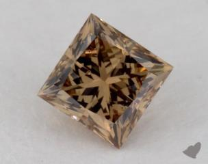 princess0.83 Carat fancy yellowish brownSI2