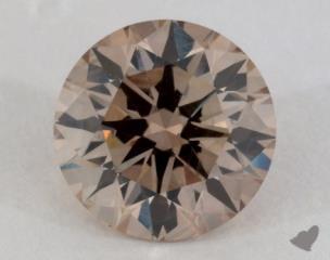 round2.32 Carat fancy brownSI1