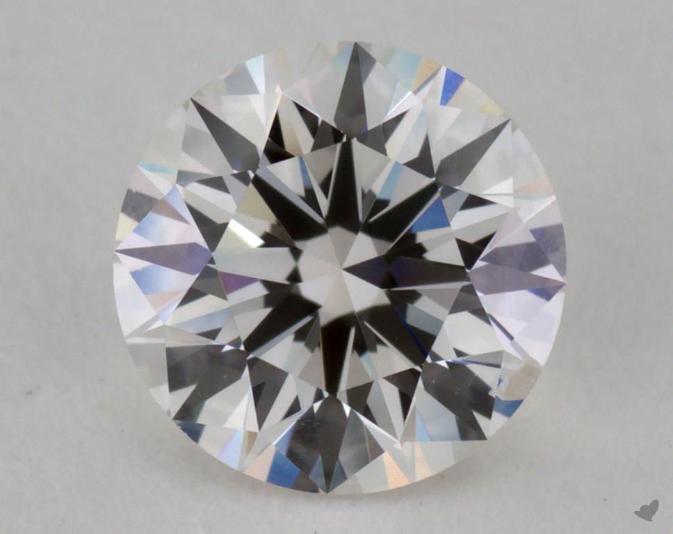 1.06 carat GIA H-SI1 Round diamond