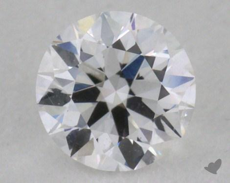 <b>0.32</b> Carat E-I1 Very Good Cut Round Diamond