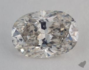 oval1.08 Carat ISI2