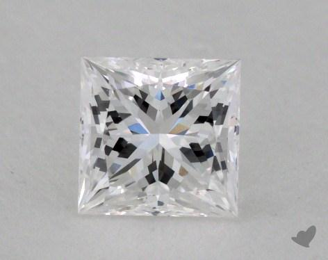 <b>0.56</b> Carat E-VVS1 Princess Cut Diamond