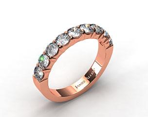 14K Rose Gold 1.50ctw Common Prong Diamond Anniversary Ring