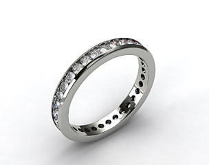 Ladies 1.00ctw* Channel Set Diamond Eternity Ring