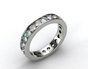 Ladies 2.00ctw* Milgrain Channel Set Diamond Eternity Ring