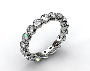 Ladies 2.00ctw* Shared Prong Diamond Eternity Ring