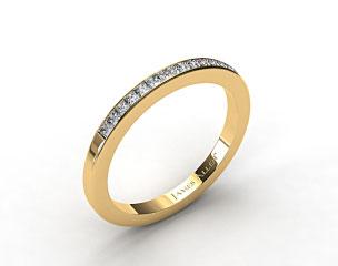 14K Yellow Gold 1.9mm, 15 Stone, 0.24ctw Matching Channel Set Wedding Band