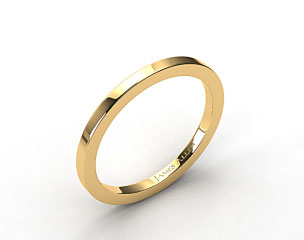 14K Yellow Gold 1.8mm High Polish Wedding Ring