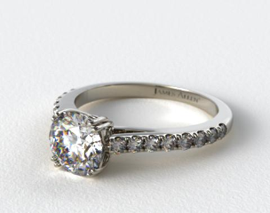 Platinum James Allen Exclusive Engagement Ring