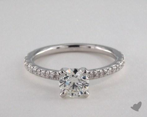 18K White Gold  Wedding Sets Engagement Ring