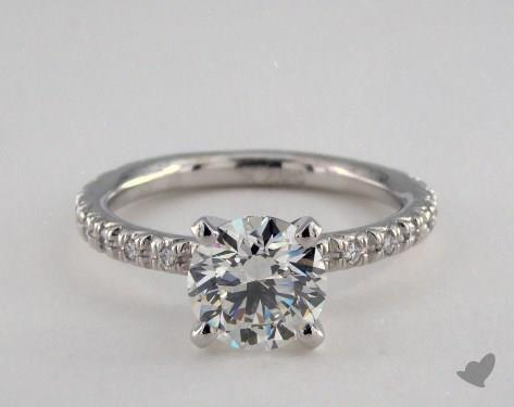 Platinum  Wedding Sets Engagement Ring