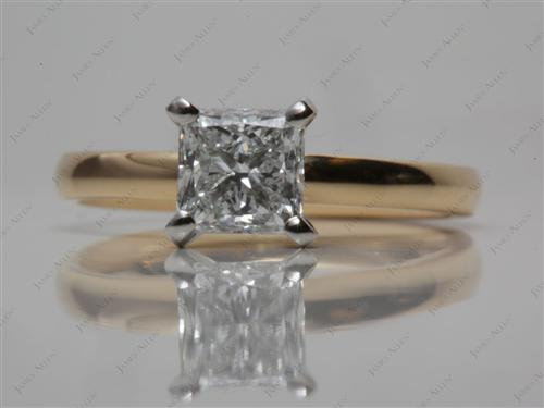 Gold  Solitaire Rings