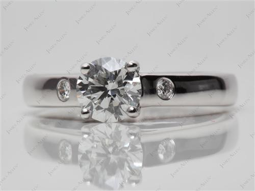 White Gold  Ring