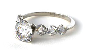 Sidestone Engagement Rings
