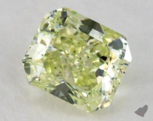 radiant1.22 Carat fancy intense yellowish greenSI2