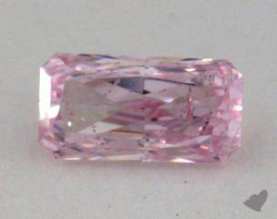 radiant0.22 Carat fancy purplish pink