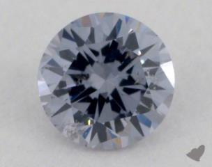 round0.12 Carat fancy blue gray