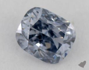 radiant0.17 Carat fancy gray blueSI1