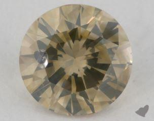 round1.01 Carat fancy brownish greenish yellow